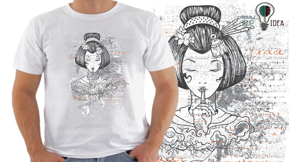 camiseta artes japonesas alternativa s8