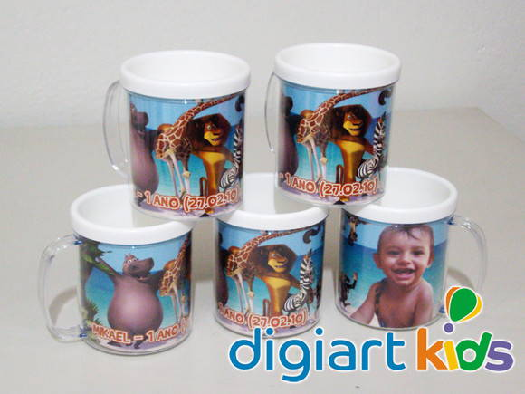 Caneca do Madagascar