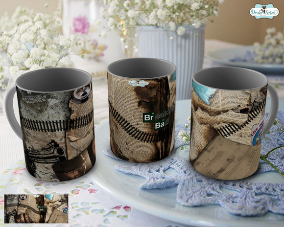 Caneca Breaking Bad - Mod. 6