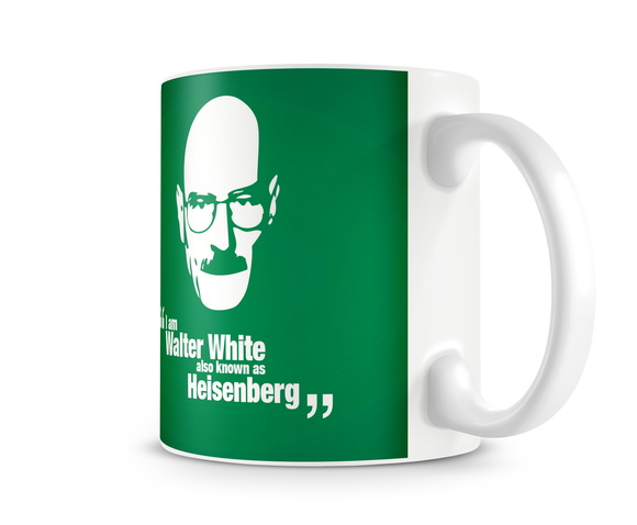 Caneca Breaking Bad - Verde