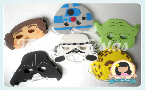 Máscaras Star Wars