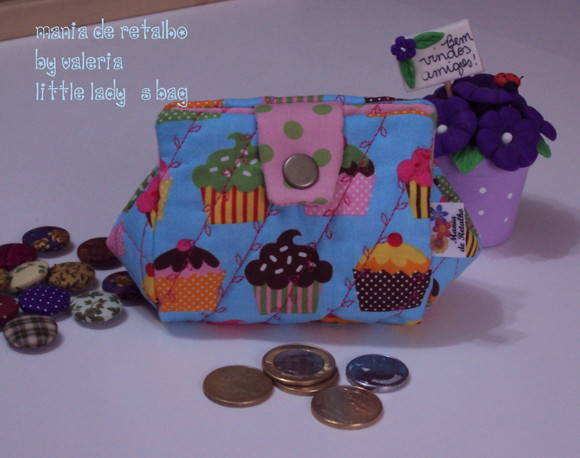 Little lady's bag (cupcake)