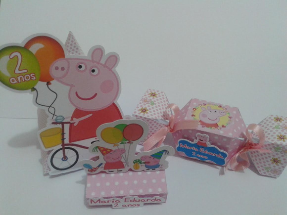 Peppa Pig KIT CAIXAS