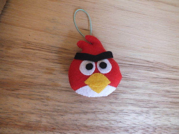 Toppers Personagens Angry Birds: Personagens Angry Birds