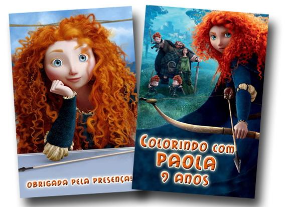Revista Colorir Valente Merida 14x10 No Elo7