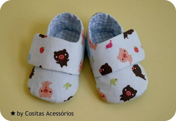Baby Sneakers Happy Pigs (PEÇA ÚNICA)