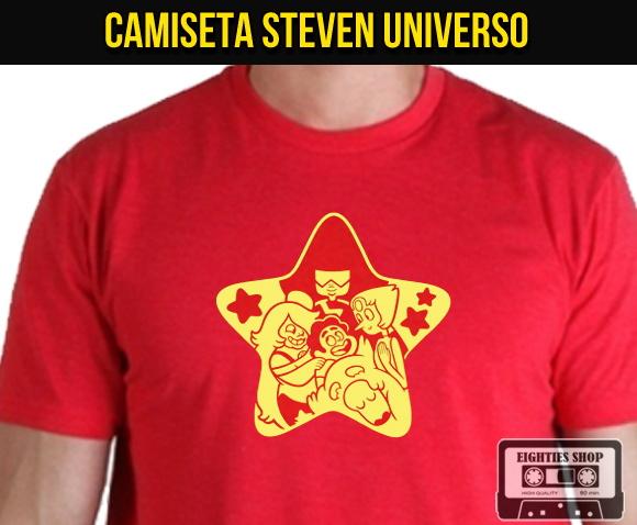 Camiseta Steven Universo Cartoon Desenho