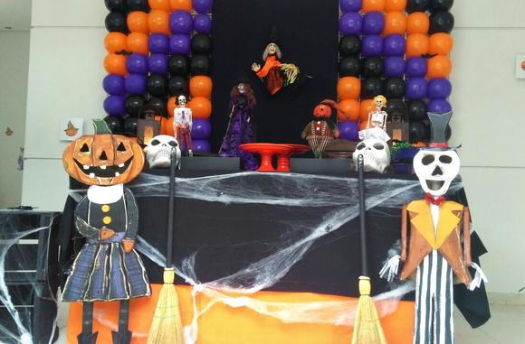 Decoraç u00e3o Halloween no Elo7 Artinova (5E73CF) -> Decoração De Festas De Halloween