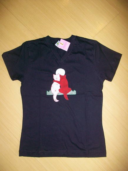 CAMISETA ADULTO CASAL GATOS