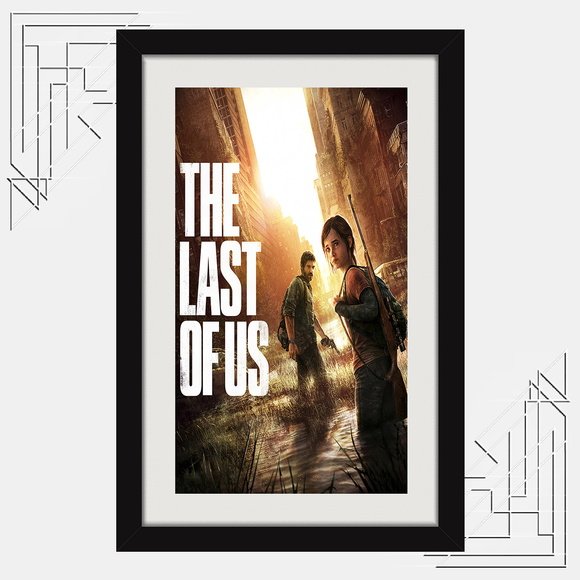 Quadro The Last Of Us 67x47cm Games