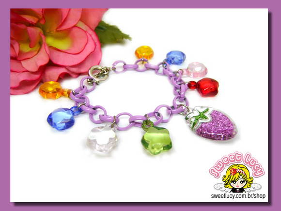 Pulseira Stars & Strawberry