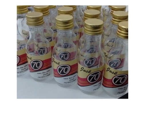 Mini garrafa pet 50ml