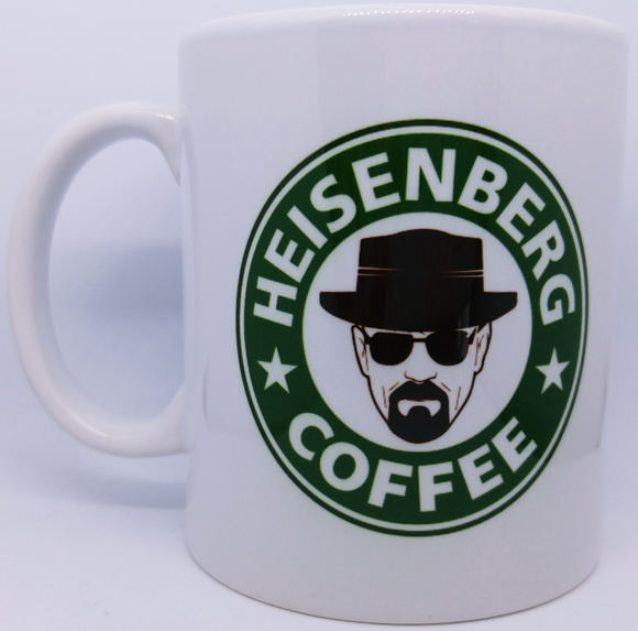 Caneca Breaking Bad Heisenberg Coffee