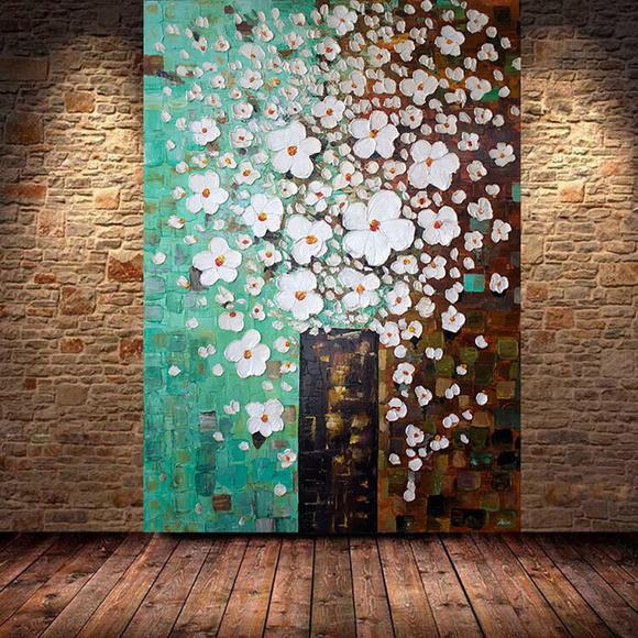 Quadros abstratos textura