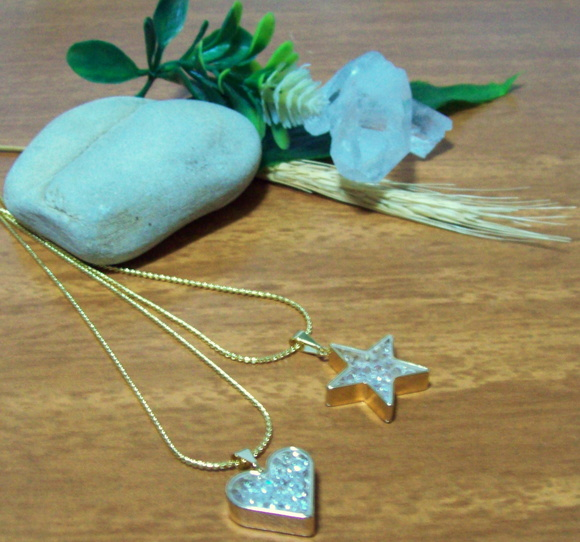 "DUO COLARES ""HEART & STAR"""
