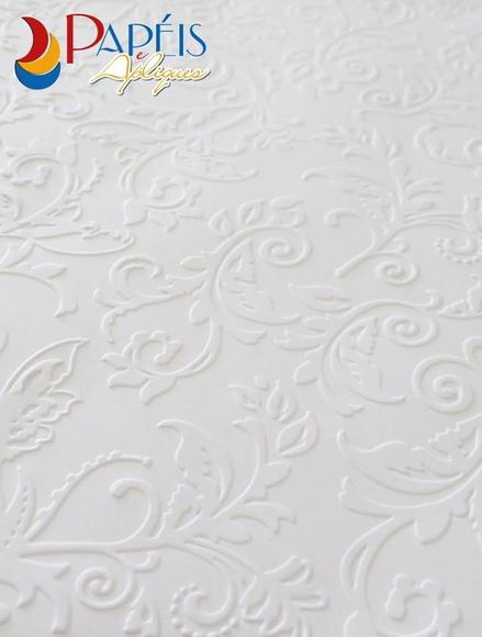 Papel com textura branco 60 folhas para fazer meu for Papel texturizado pared