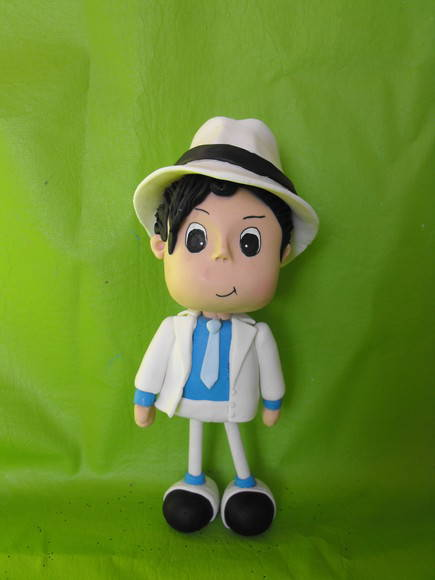 Boneco do Michael Jackson MOONWALKER