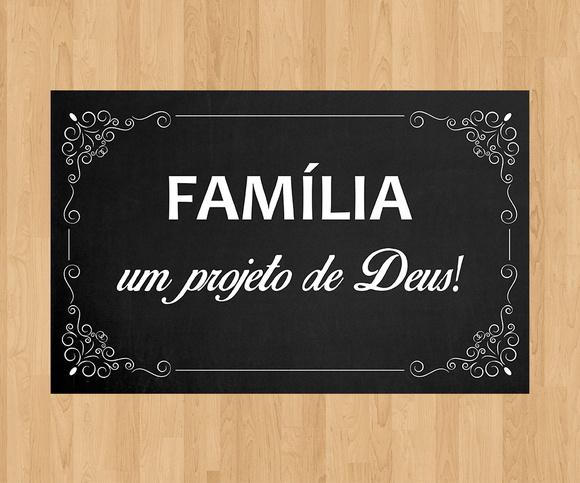 """Família Projeto De Deus: Plaquinha De Casamento """"Família"""" No Elo7"""