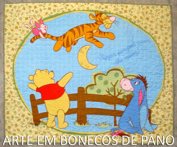 Tapete Turma do Pooh Tigrão