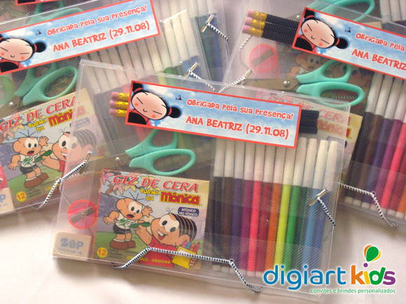 Kit escolar n.º 2 - Pucca