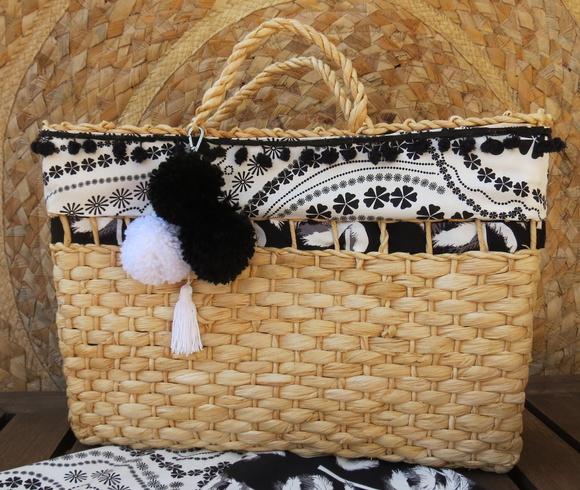 Bolsa De Palha Para Casamento : Bolsa palha customizada sol decora?es e artesanatos elo