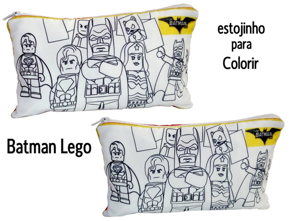 Lego Batman Estojo Para Colorir No Elo7