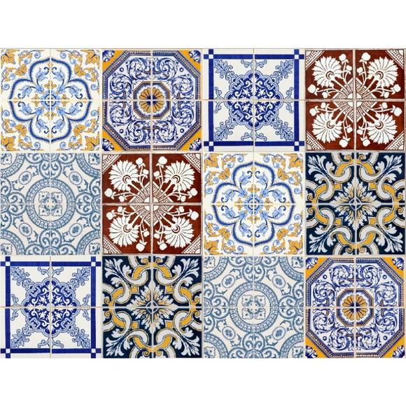 Pashmina crochet tons de castanho elo7 for Azulejos df