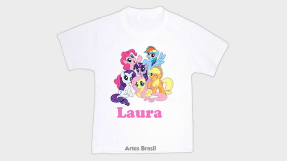 Camiseta Infantil My Little Pony