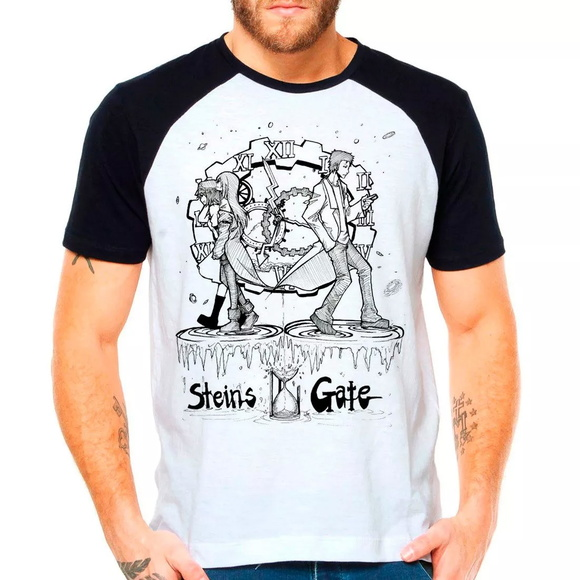 Camiseta Steins Gate Lost Time Anime