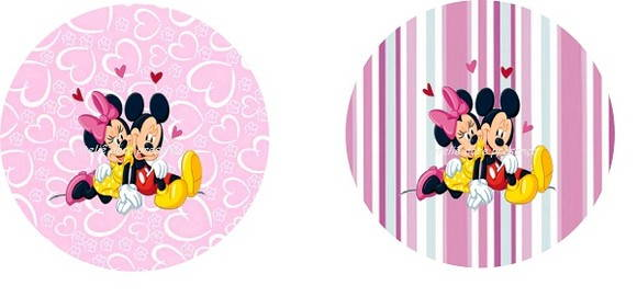 Latinha Mint to be 7x2 da Minnie