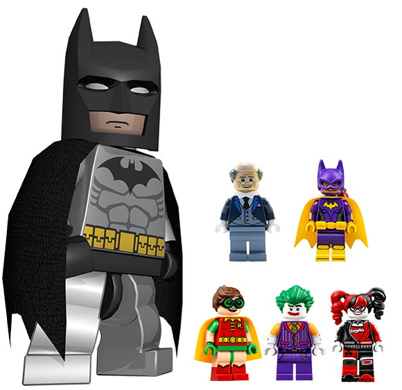 KIT FESTA INFANTIL LEGO BATMAN