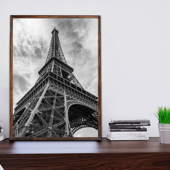 Quadro Decorativo Paris c Moldura A3