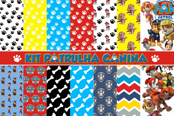 Kit Digital Patrulha Canina