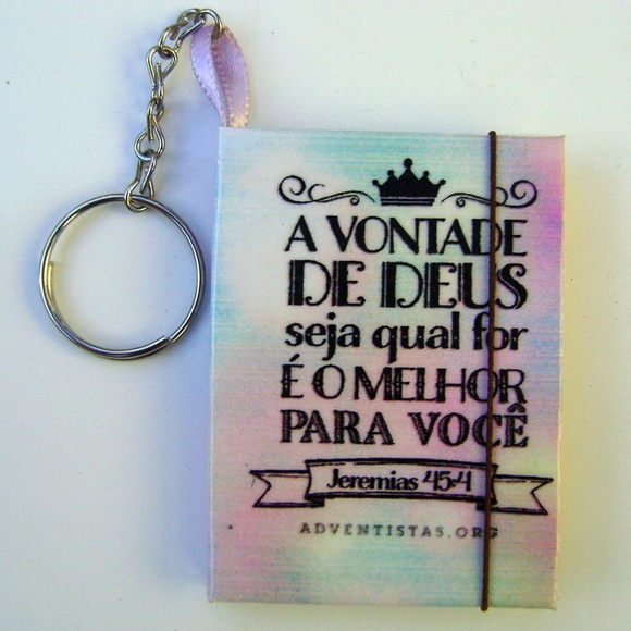 Chaveiro Feminino Porta Post-it SA001