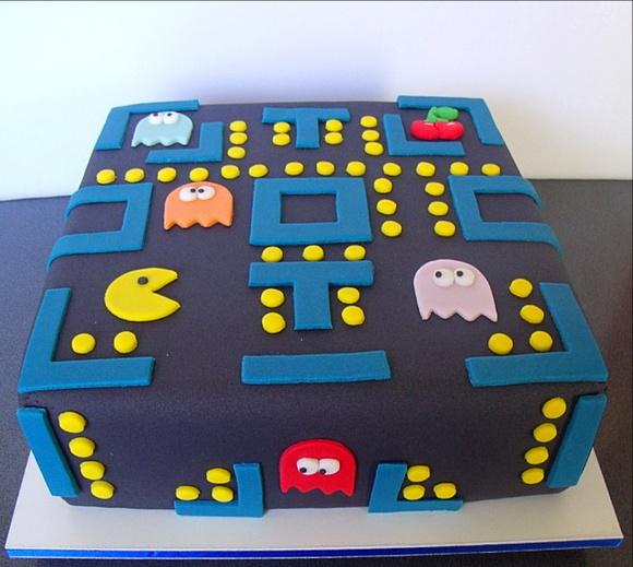 Bolo Decorado Pacman (Anas Cake RJ) no Elo7 | Ana´s Cake
