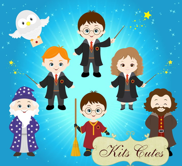 Kit Digital Harry Potter 06