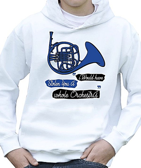 AGASALHO MOLETOM MASC- BLUE FRENCH HORN