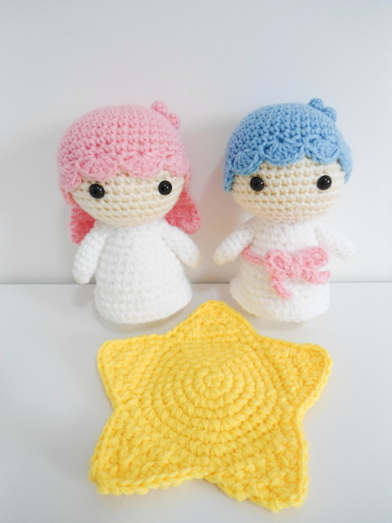 Amigurumi Kiki&Lala - Little Twin Star