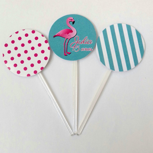 Toppers Flamingo