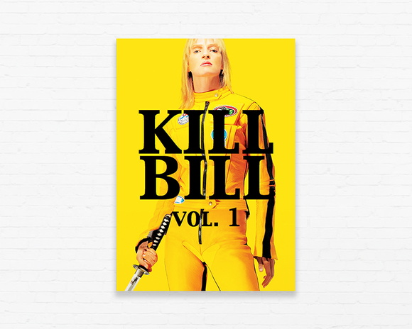 Quadrinho 19x27 Kill Bill vol. 1