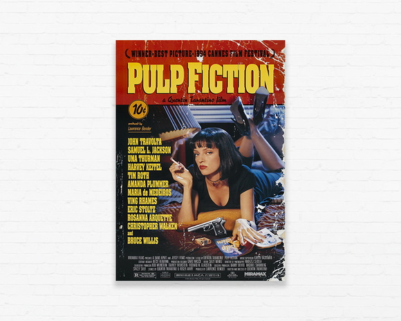 Quadrinho 19x27 Pulp Fiction