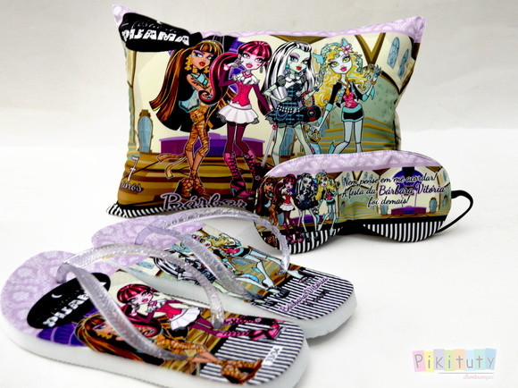 Kit Festa do Pijama Monster High