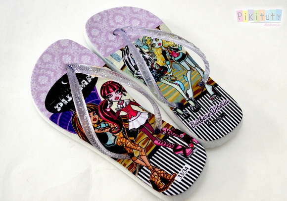 Chinelo Personalizado - Monster High