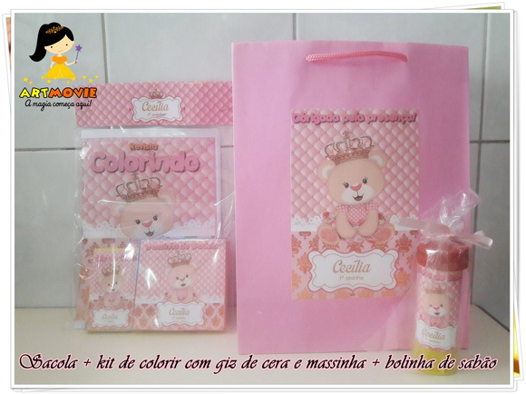 Kit Ursa Princesa