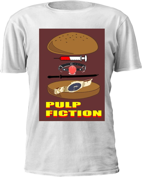 Camiseta Pulp Fiction Burger