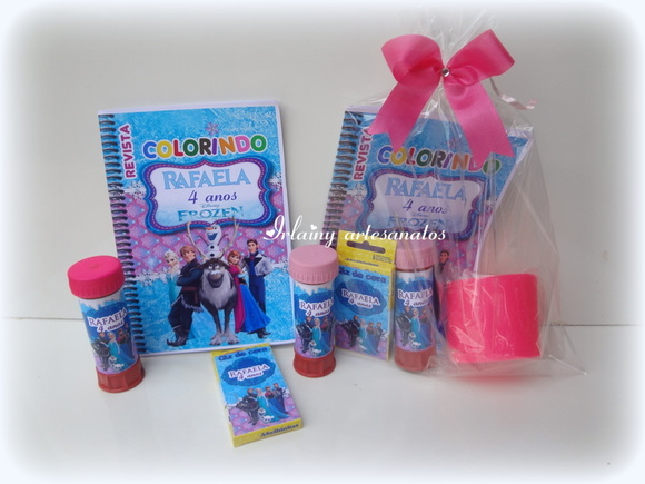 Kit personalizado Frozen