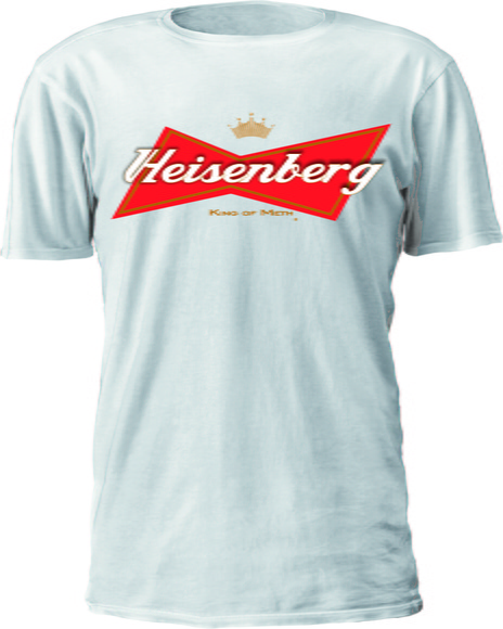 CAMISETA BREAKING BAD LOGO BUDWEISER