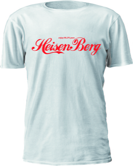 CAMISETA BREAKING BAD LOGO COCA-COLA