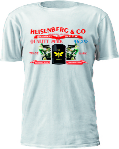 CAMISETA BREAKING BAD LOGO LEVIS TAG