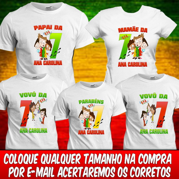 5 Camisetas Detetives do Prédio Azul DPA